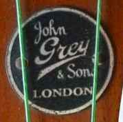 John Grey badge pre-war circle