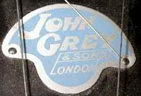John Grey badge post-war